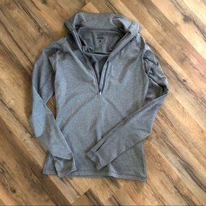 Nike Fitted Half Zip-Up Jacket